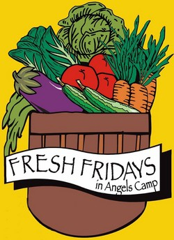Fresh Fridays Farmers Market Angels Camp
