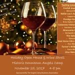 Wine Stroll List