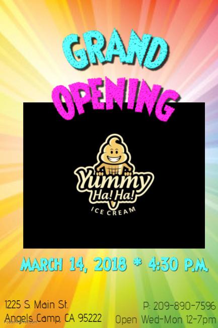 Yummy Haha Grand Opening