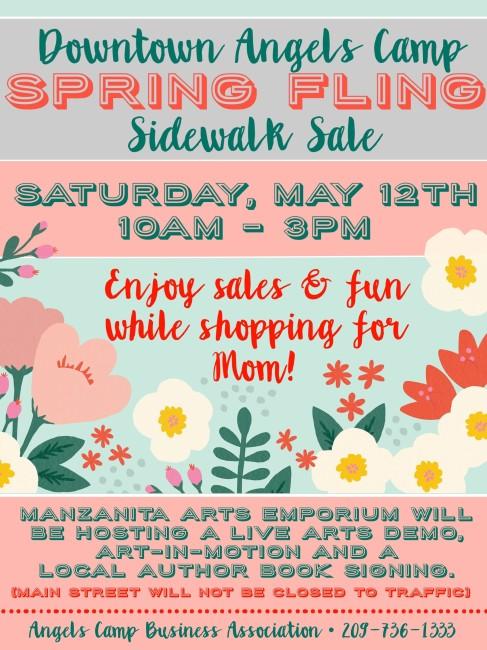 2018 Spring Sidewalk Sale