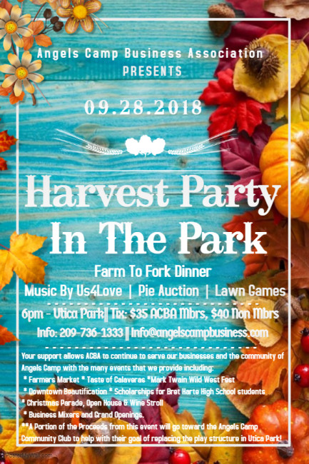 Updated Harvest Flyer