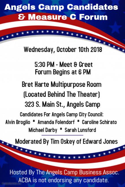 AC Candidates night Flyer