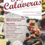 taste of calaveras 2017 poster