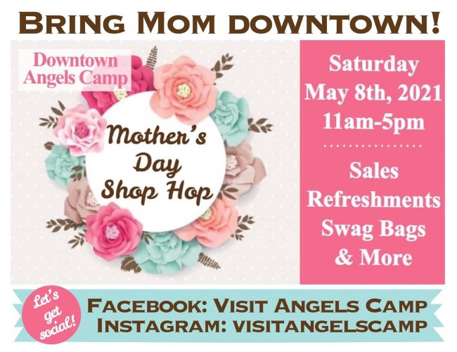 Mother's Day Downtown Shopping 2021