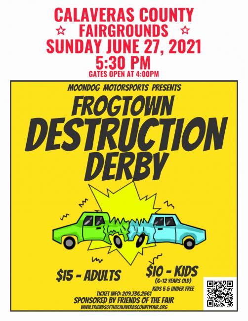 Destruction Derby Calaveras County Fair 2021